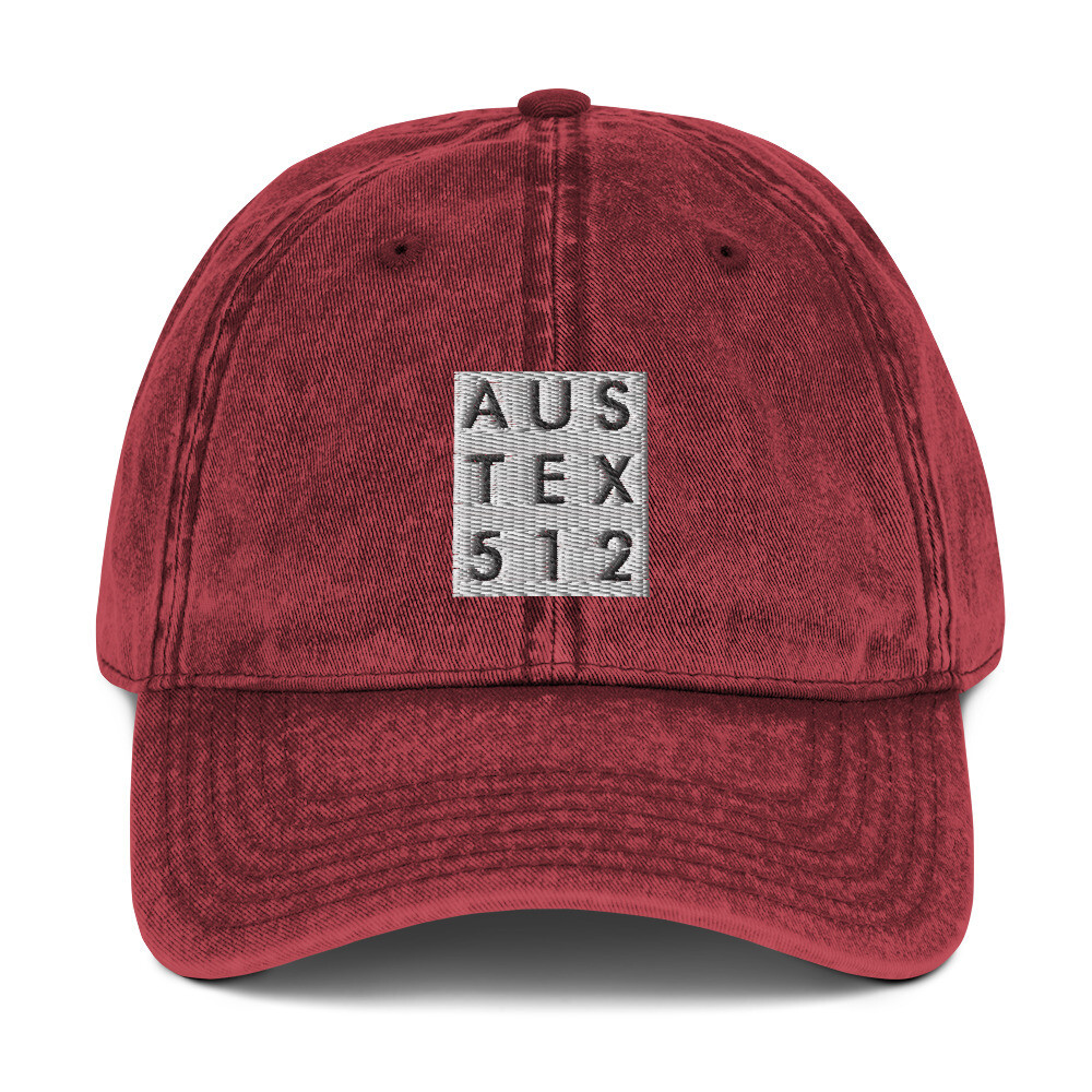 AusTex Vintage Cotton Twill Cap