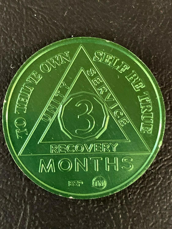 3 month aluminum