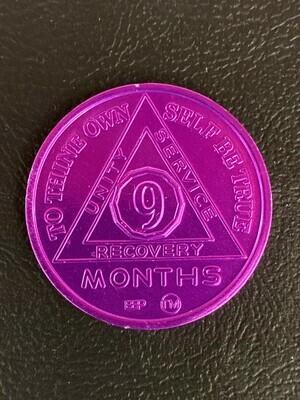 9 month aluminum