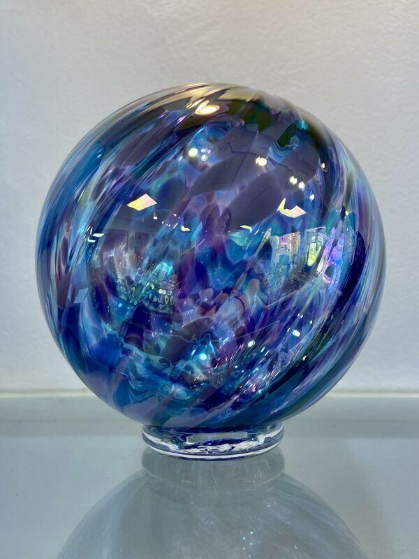 Violet Blue Float