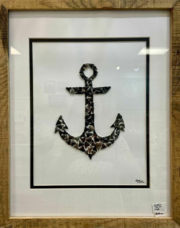 Shark Tooth Anchor Wall Art