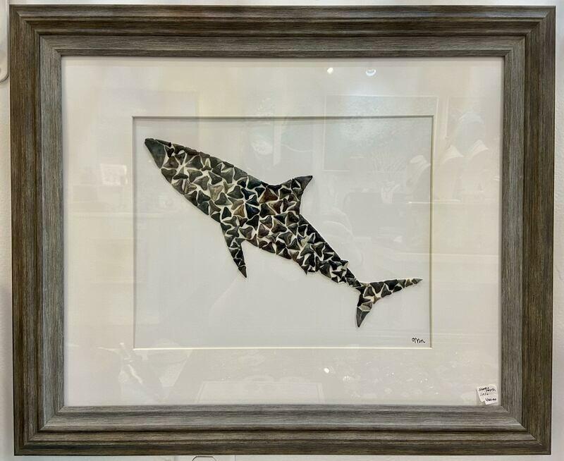 Shark Tooth Wall Art