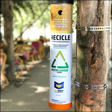 Colillero ECO + Reciclaje Gratis