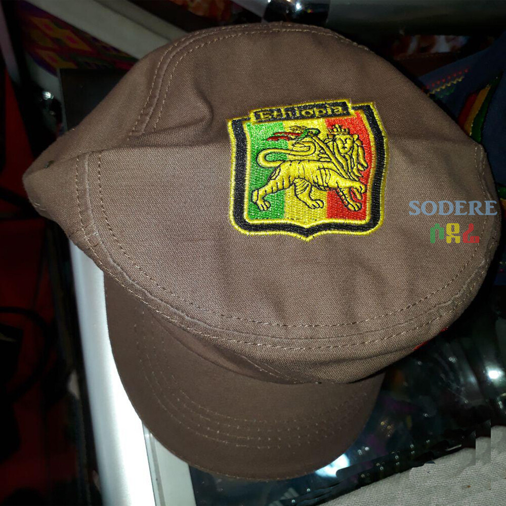 Moa Ambesa, Rastafari, King Aldha, Queen Omega Hat (Shipped from Ethiopia)