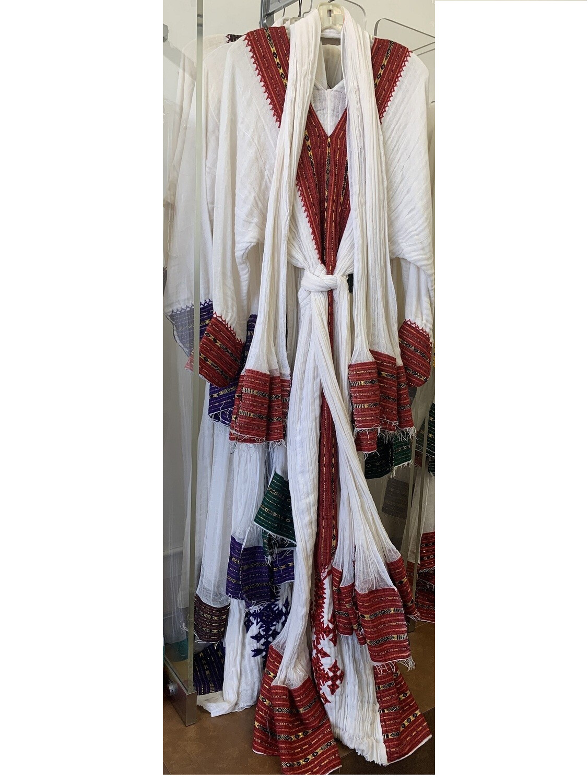 Ethiopian Traditional Cloth - Women Yehager libs