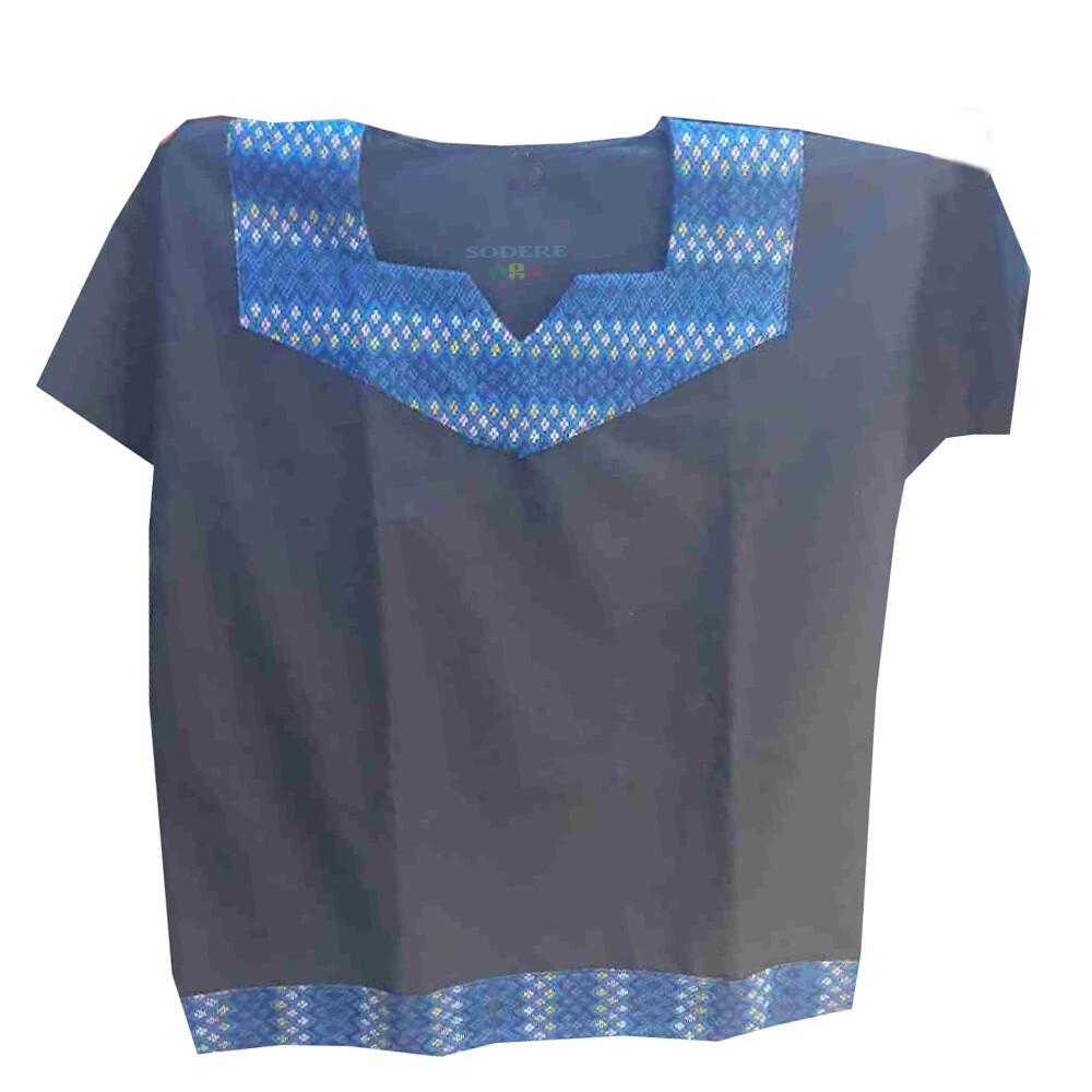 በጥልፍ የተሰራ ባህላዊ የወንዶች አላባሽ T-shirt for Men