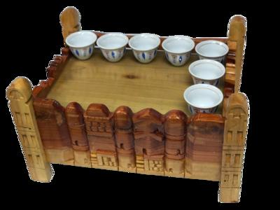 Wooden Rekebot የእንጨት ረከቦት
