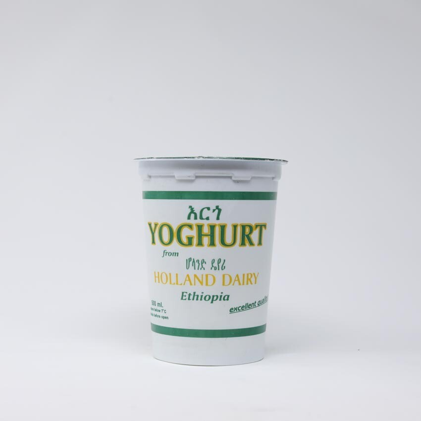 እርጎ Yoghurt 500ml (Ethiopia Only)