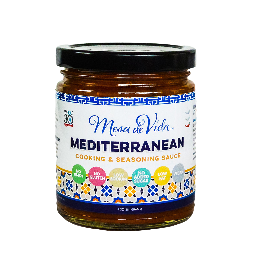Mediterranean Cooking and Seasoning Sauce