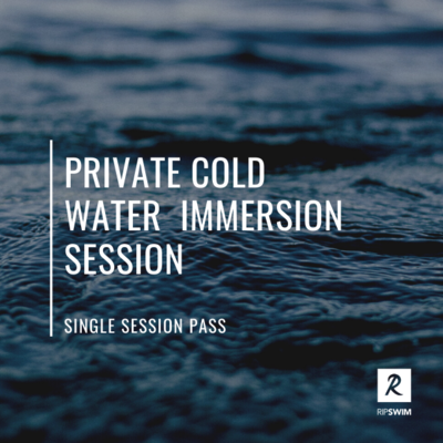 Private Cold water session for 1 person - 45 minutes total