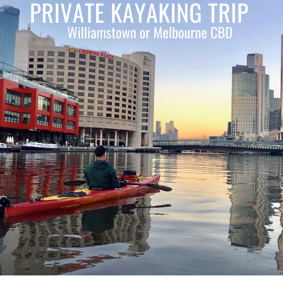 Private kayak outing for 2 - Melbourne CBD