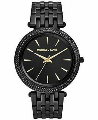Orologio da Polso da Donna Michael Kors MK3337 Darci Crystal Black Pave Glitz