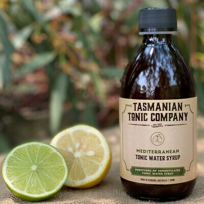 Mediterranean Tonic Water Syrup