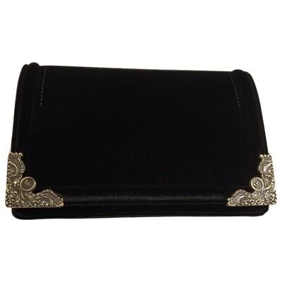 McQ Velvet clutch bag