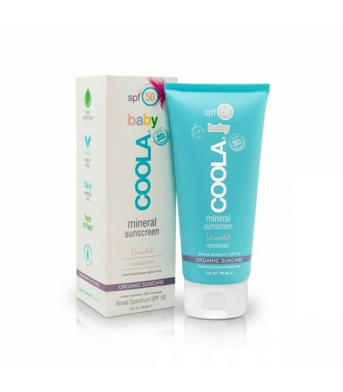Mineral Baby Unscented Sunscreen SPF50