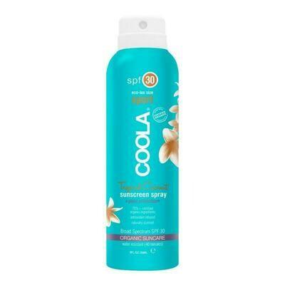 Travel Size Classic Body Organic Sunscreen Spray SPF 30 - Tropical Coconut