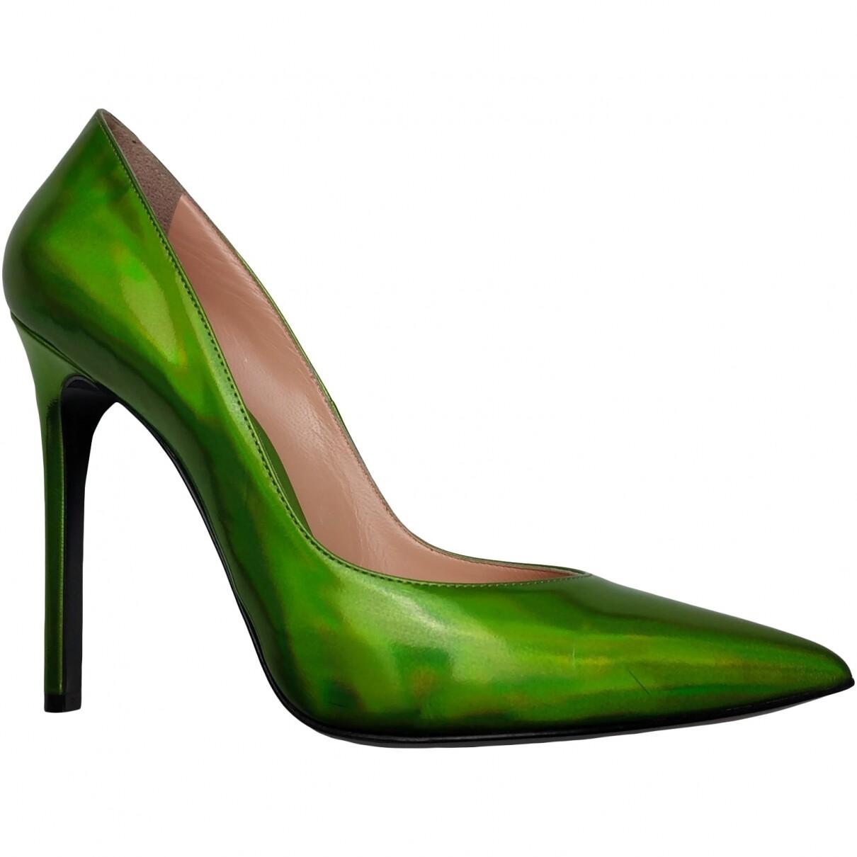Barbara Bui Green chameleon, size 38,5