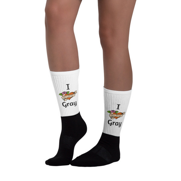 I heart Gray Socks