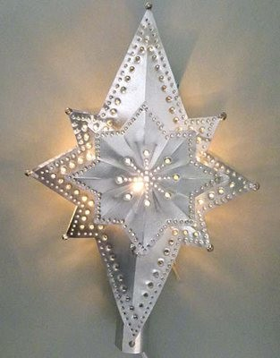 3 Dimensional Star Lighted Treetop