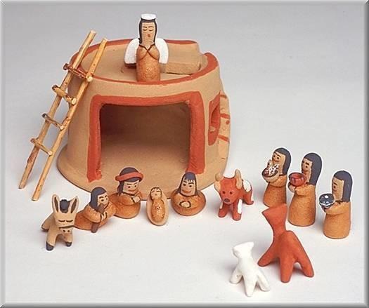 Kiva Nativity