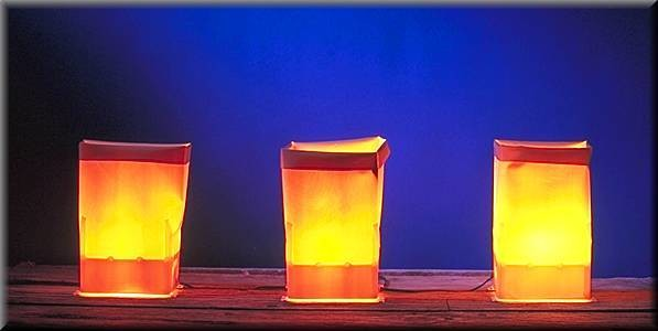 Electric Luminarias Set (Farolitos)