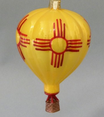 Yellow Zia Balloon