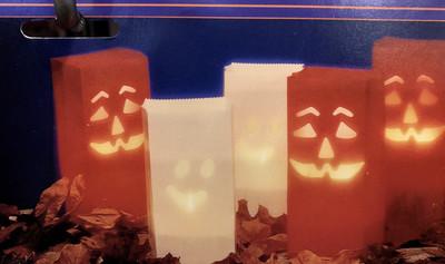 Halloween Luminaria Sleeves
