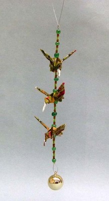 3 Piece Hummingbird Strand, Origami