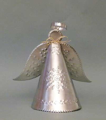 Angel Treetop, Lighted, 10