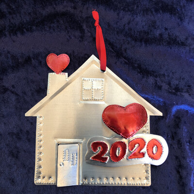 2 Dimension 2020 House Ornament