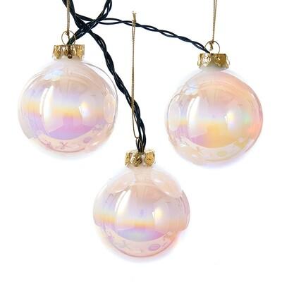 LED Color Changing Glass Ball Light Set