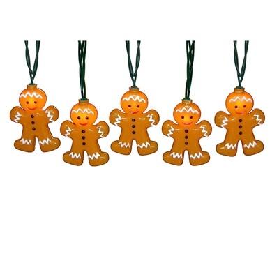 Gingerbread Men Light Set