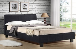 Hamburg Fabric King Size Bed