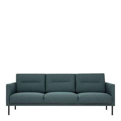 Larvik 3 Seater Fabric Sofa Dark Green