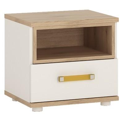 4KIDS Single Drawer Bedside Cabinet