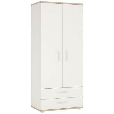 4KIDS Double Door Drawer Wardrobe
