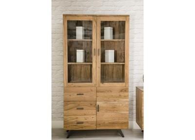 Anacia 3 Doors and 3 Drawers Display Cabinet
