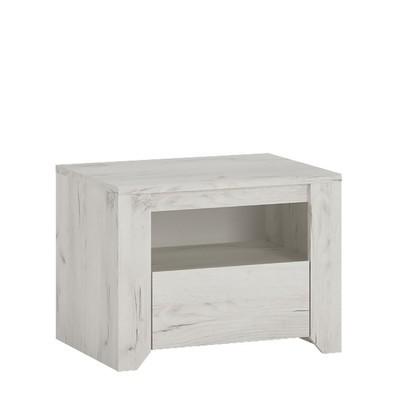 Angel 1 Drawer Bedside Cabinet