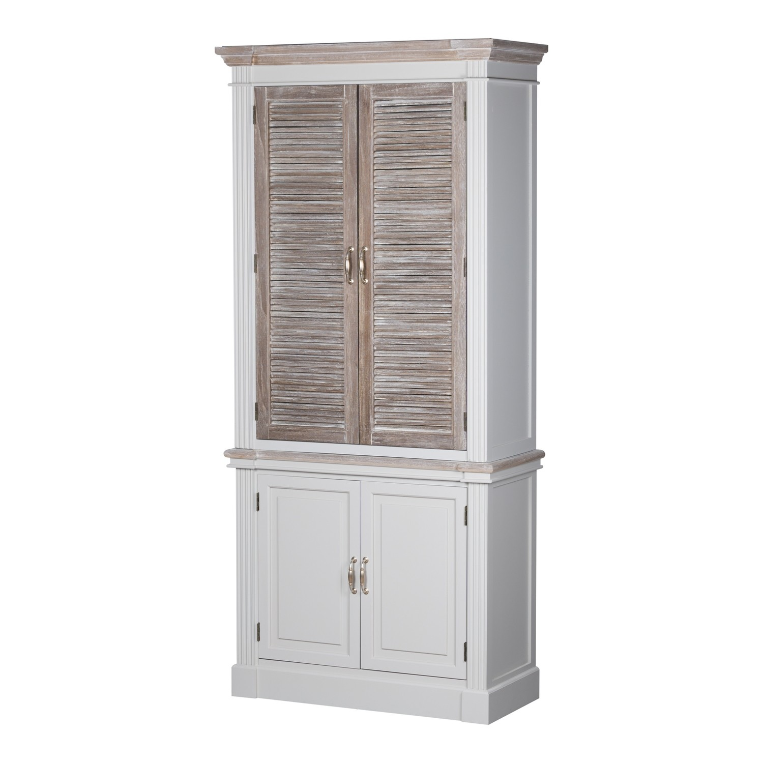 Liberty Linen Cupboard With Louvred Doors