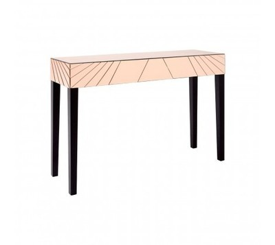 Kensington Townhouse Earl Pink Top Console Table