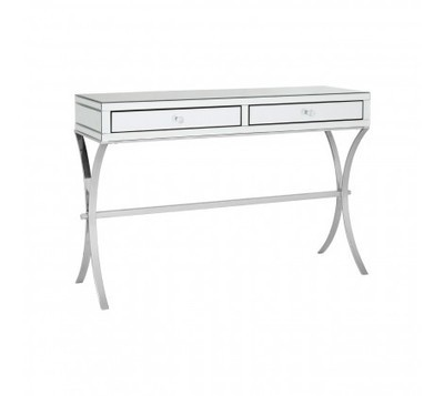 Gianna 2 Drawer Mirrored Console Table