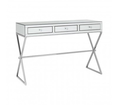 Gianna 3 Drawer Mirrored Console Table