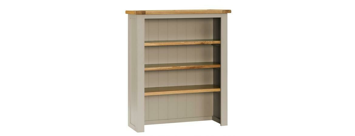 Oak Wood 3 Shelves Hutch