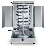 S/S Electrical Kebab Machine 2 Burner