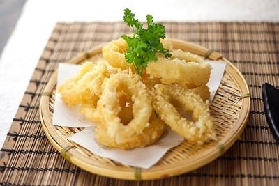 Squid Tempura full