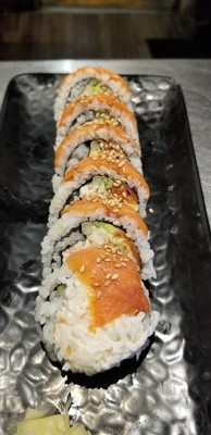 Smoked Salmon Roll