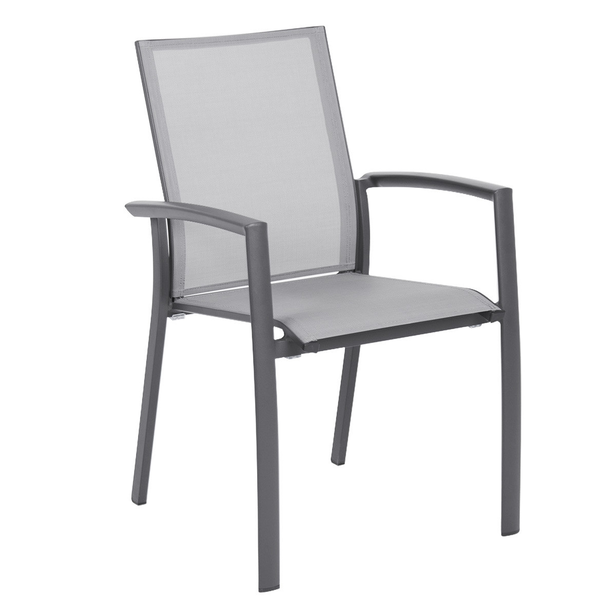 Relaxed Sling Aluminum Dining Chair