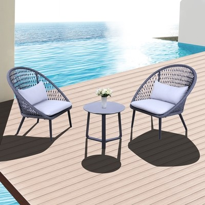 Vanrios 3-Piece Outdoor Lounge Package