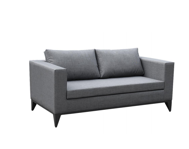 Outdoor Loveseat with Cushions