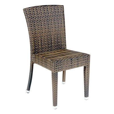 Wicker Outdoor Dining Chair